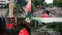 Se registra deslizamiento de tierra del cerro El Cacique, en Zitácuaro; caminos y viviendas afectados