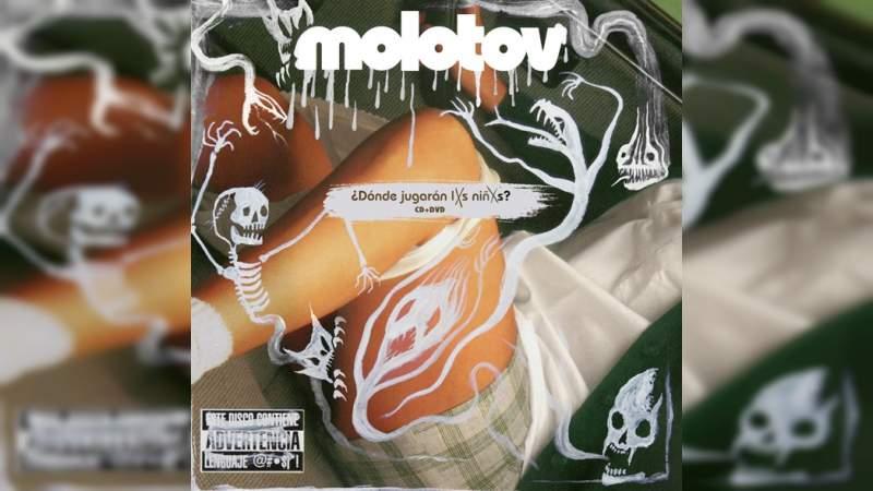 Cibernautas piden en redes sociales eliminar el álbum '¿Dónde jugarán las niñas?' de Molotov, por su portada
