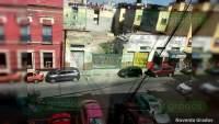 """Aparecen pintas del CJNG y """"El Mencho"""", frente a oficinas de la FGR en la Ciudad de México"""