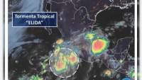 Tormenta tropical Elida provocará descargas eléctricas y lluvias en Michoacán