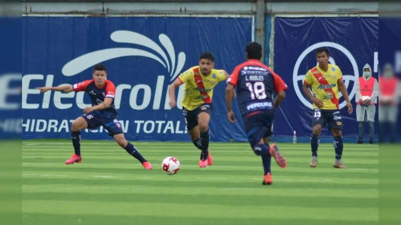 Resucita el Morelia en el Morelos, hoy contra Pumas Tabasco