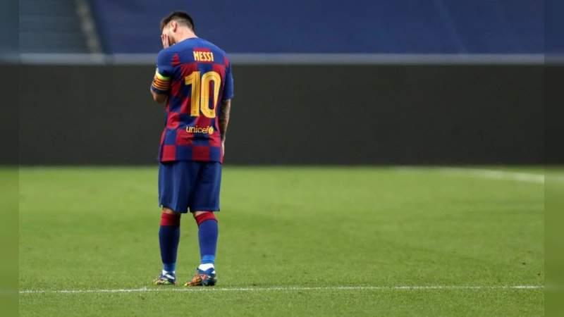 Bomba Mundial, Lionel Messi comunica al Barcelona que se va del equipo