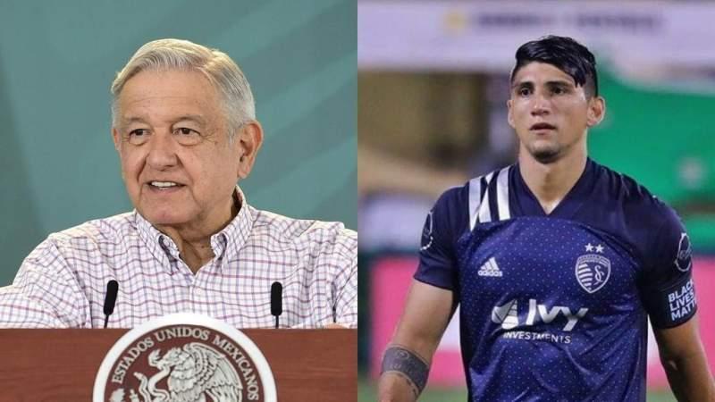 Alan Pulido contra AMLO por comentarios sobre el sueldo de los deportistas mexicanos