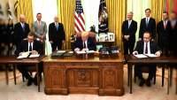 Trump: Serbia y Kosovo llegaron a un acuerdo para normalizar sus relaciones
