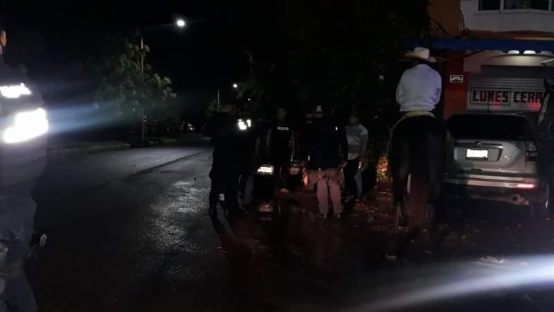 Continúan los operativos policiacos para desactivar eventos masivos en Apatzingán
