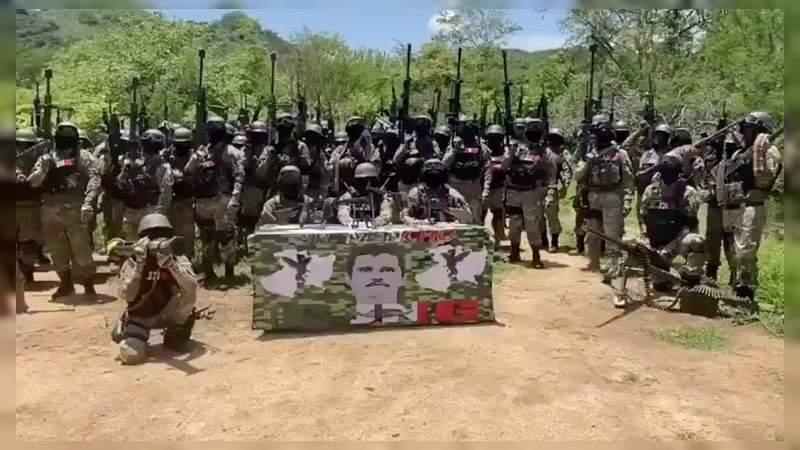 Continúa ofensiva del CJNG en la Tierra Caliente michoacana: Anuncia incursión en Acahuato, Buenavista y Tepalcatepec este martes