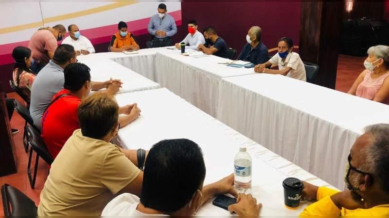 Administradores de canchas deportivas en Apatzingán demandan aforo total en estos espacios