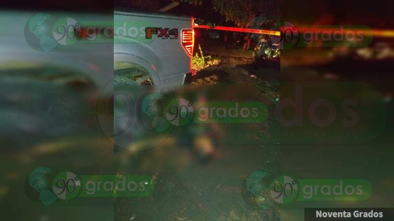 Asesinan a balazos a un hombre en la colonia Leandro Valle, Apatzingán