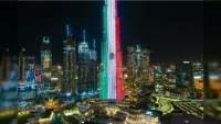 Dubai se iluminó con los colores de México