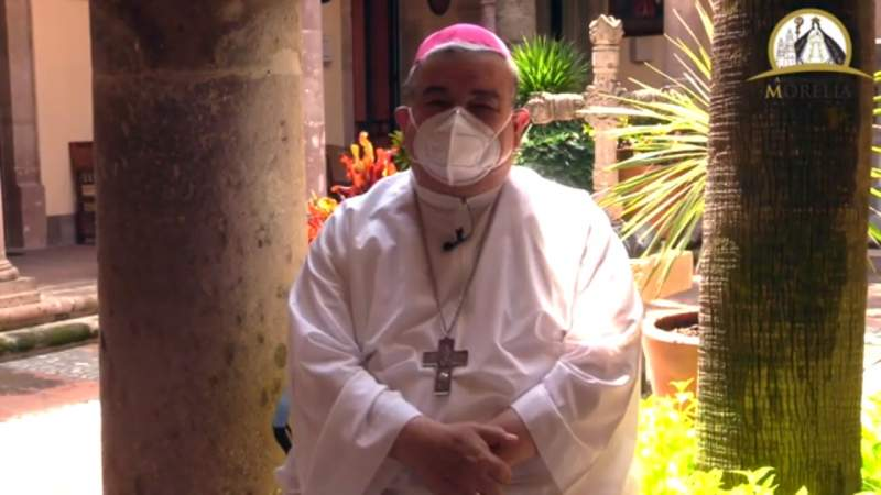 Invita arzobispo de Morelia a celebrar fiestas patrias con todos los cuidados para evitar mayores contagios de Covid-19