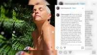 Federica de Kabah posa desnuda y manda un emotivo mensaje