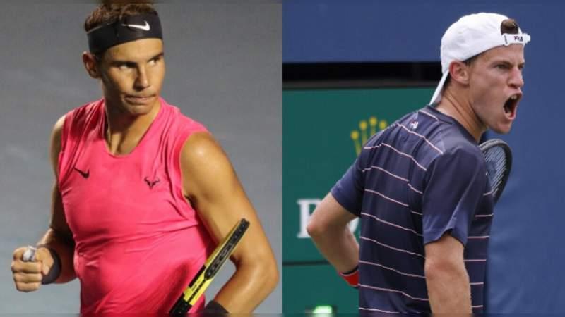 Diego Schwartzman elimina al rey de la arcilla Rafael Nadal en el campeonato Masters 1000 de Roma