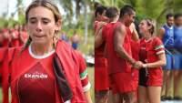Pamela Verdirame, es eliminada de Exatlón pero Eliud le pidió ser su novia antes de irse