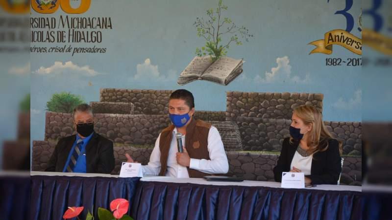 Rector de la UMSNH realiza gira por la Región Bajío