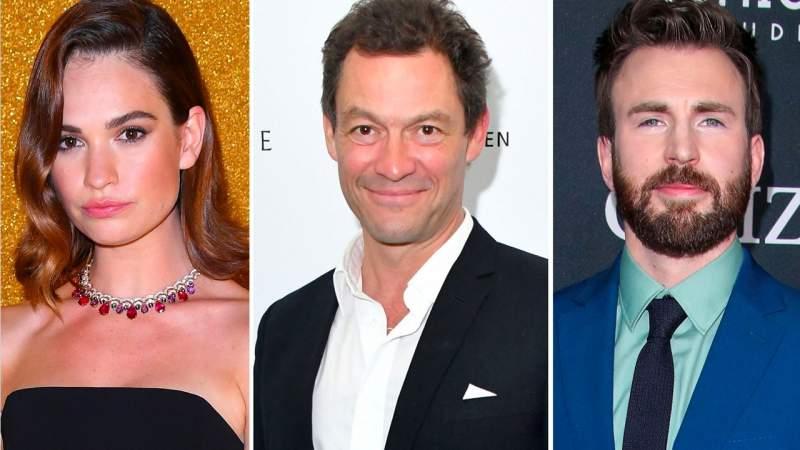 Lily James ha sido vista con otro actor y no, ya no es con el guapo Chris Evans