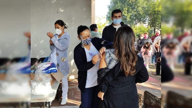 Arranca gobierno de Morelia campaña de vacunación contra Influenza