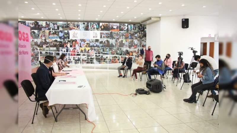 Con Ruta Rosa, DIF Morelia conmemora mes contra el Cáncer de Mama