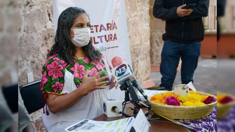 """Gobierno de Morelia anuncia sus actividades culturales de """"Noche de Muertos"""""""