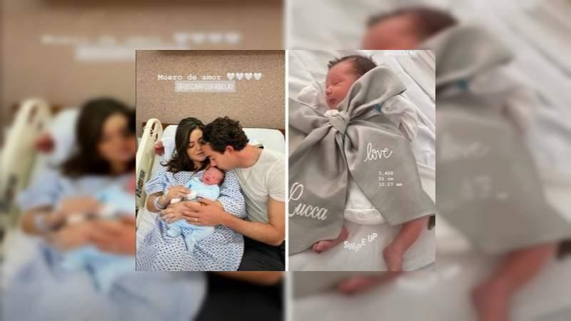 Óscar Jiménez y Mariana Echeverría se convierten en padres