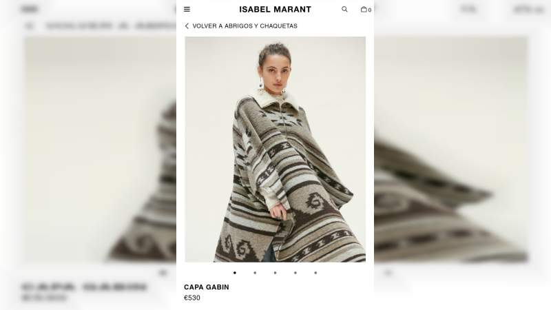 Diseñadora francesa plagió diseños purépechas, acusan senadores de Morena