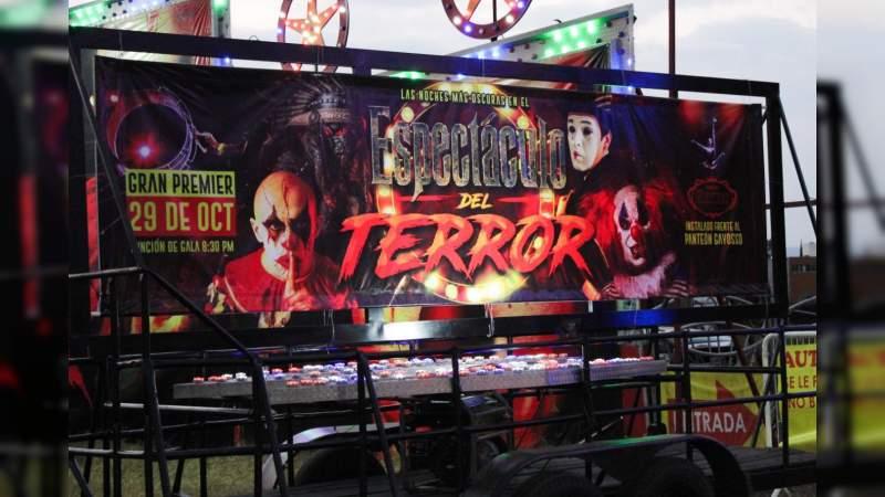 """Llega a Morelia el """"Espectáculo del Terror"""" de Los Hnos. Garner"""