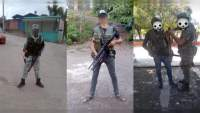 Con uniformes apócrifos y reunidos con militares, circulan fotos de miembros del crimen organizado en Michoacán