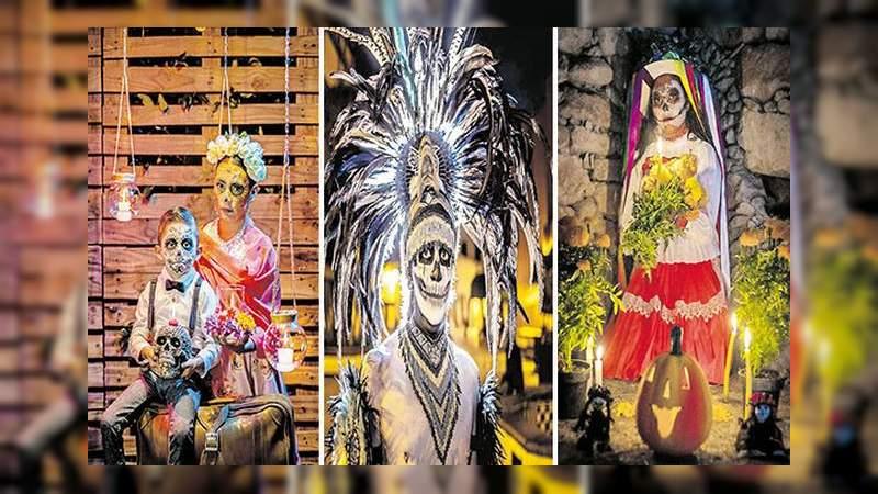 Realizan concurso de fotografía de Catrinas en Querétaro