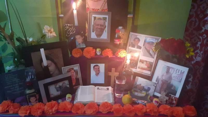 Celebración del Dia de Muertos 2020 en Apatzingán