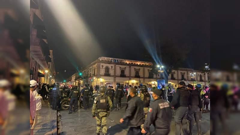 Con saldo blanco transcurren la celebración de las noche de ánimas en Morelia