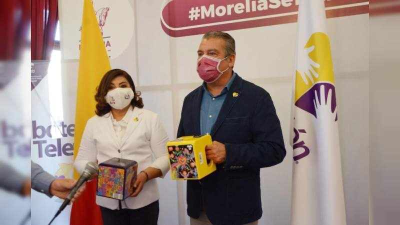 Llama Raúl Morón a la solidaridad de los morelianos para donar al Teletón