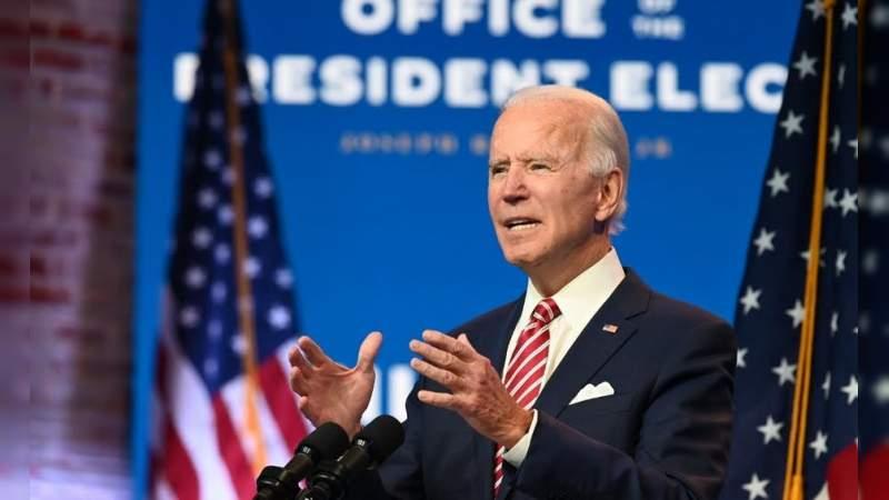 """Biden: """"Necesitamos un plan de transición contra el Covid-19 para evitar más muertes"""""""