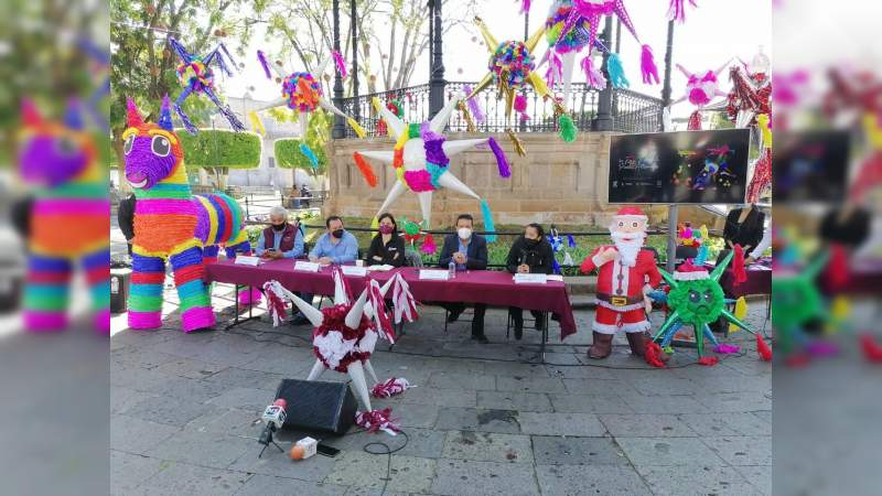 Gobierno de Morelia impulsa primer Feria Virtual de Piñata Artesanal