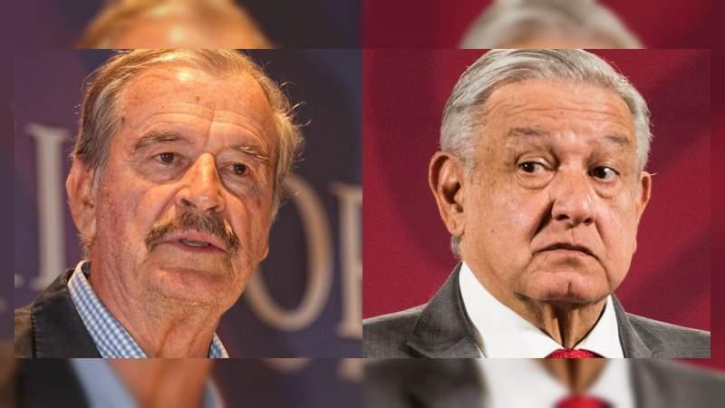 """Vicente Fox se lanza contra AMLO por el manejo de la pandemia: """"Necio, jamás aceptarás haberte equivocado"""""""