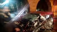 Muere hombre al impactarse en el acueducto de Morelia, Michoacán