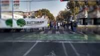 Suttebam y Tecnológicos Descentralizados exigen pagos atrasados, bloquean circulación desde Acueducto hasta la Lázaro Cárdenas