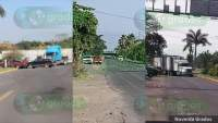 Delincuentes bloquean diversas carreteras en Múgica