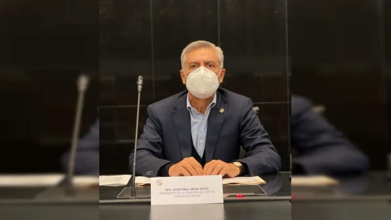 Se busca desterrar la corrupción a través de reforma judicial: Cristóbal Arias Solís