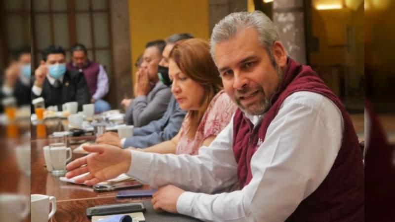 Convoca Alfredo Ramírez a promover amparos contra nueva deuda pública en Michoacán