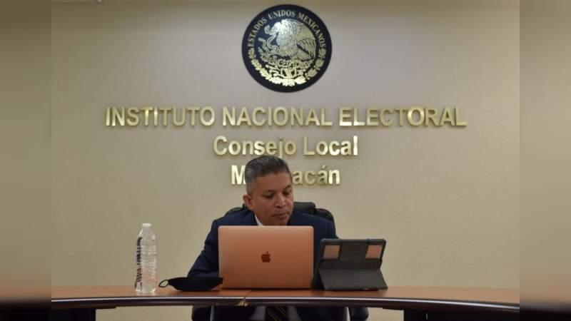 """INE imposibilitado de poder compartir gastos con el IEM """"andamos pobres"""": David Alejandro Delgado Arroyo"""