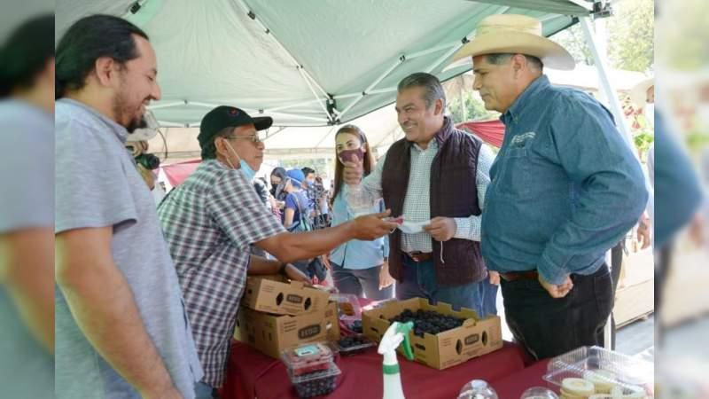 Con programa, reactivará Raúl Morón la economía en las zonas rurales de Morelia, Michoacán