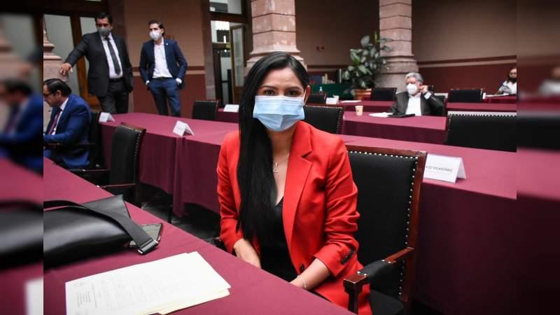 Logra Araceli Saucedo que en Michoacán se castigue a quien filtre imágenes de víctimas de violencia