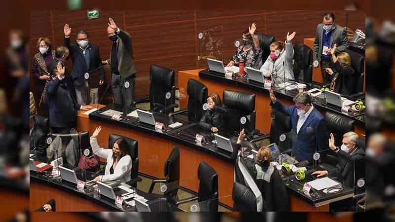 Senado de la República aprueba eliminación del fuero presidencial
