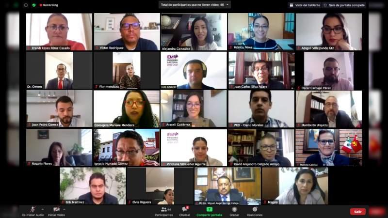 Comparte IEM experiencias sobre consultas en pueblos y comunidades indígenas