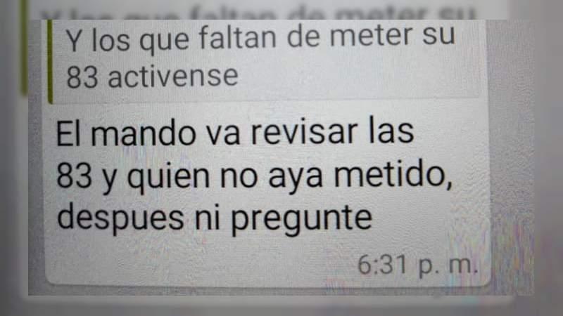 """Quien no haya metido autos al corralón """"después ni pregunte"""": La amenaza a los agentes de Tránsito de Michoacán para cumplir cuota de arrastres"""