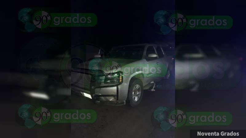 Tras enfrentamiento, hallan a 6 ejecutados en Tingüindín; aseguran 19 armas y 30 vehículos