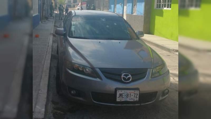 Atacan a tiros a un individuo en Zamora, Michoacan, milagrosamente resulta ileso
