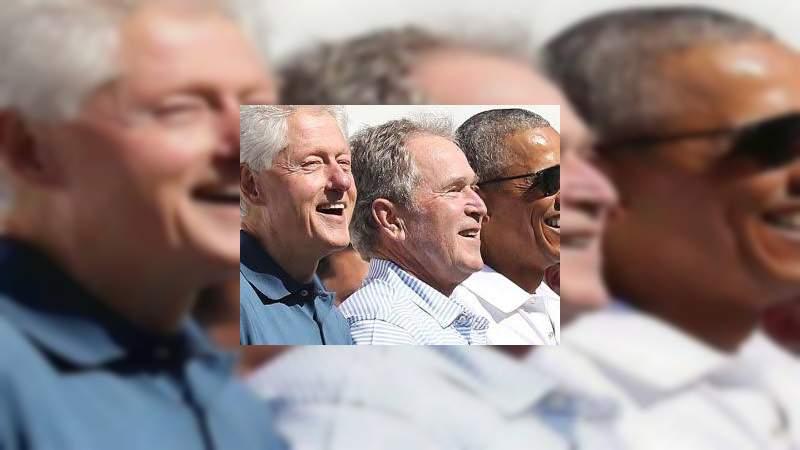 Los expresidentes Clinton, Bush y Obama piden ser voluntarios y vacunarse públicamente contra el Covid-19