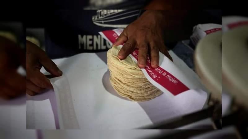 Asegura el gobierno que no se aumentará el precio de la tortilla