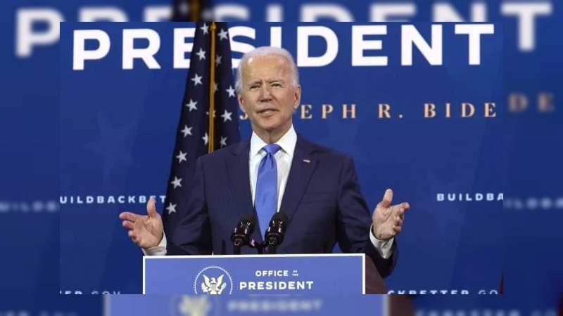"""Joe Biden: """"Recibí la felicitación de muchos líderes republicanos en privado reconociendo mi victoria"""""""