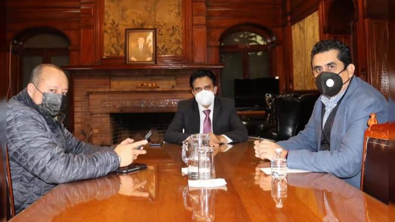 Diálogo, clave para la atención al sector transportista: Armando Hurtado